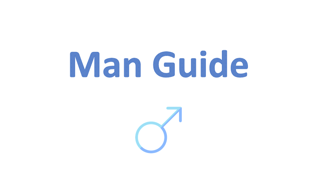 man-guide